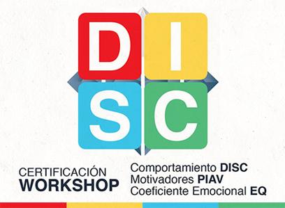 Certificación Comportamiento (DISC), Motivadores (PIAV) y Coeficiente Emocional (EQ)